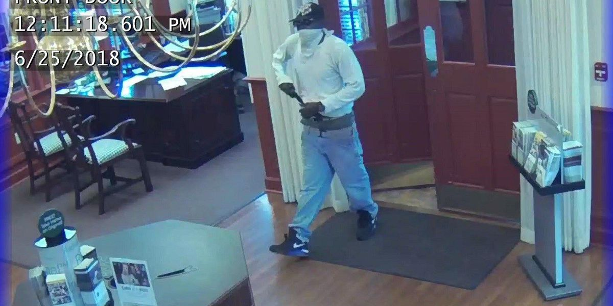Decatur bank robbery suspect considered 'armed and dangerous'