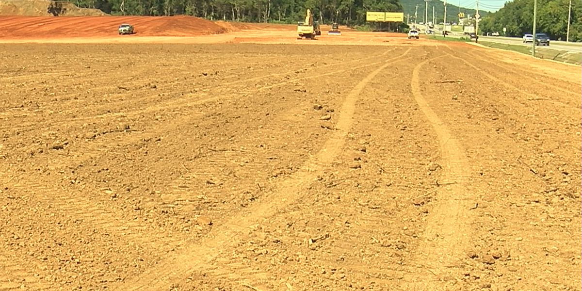 20-acre construction project in Madison County on Highway 72 East