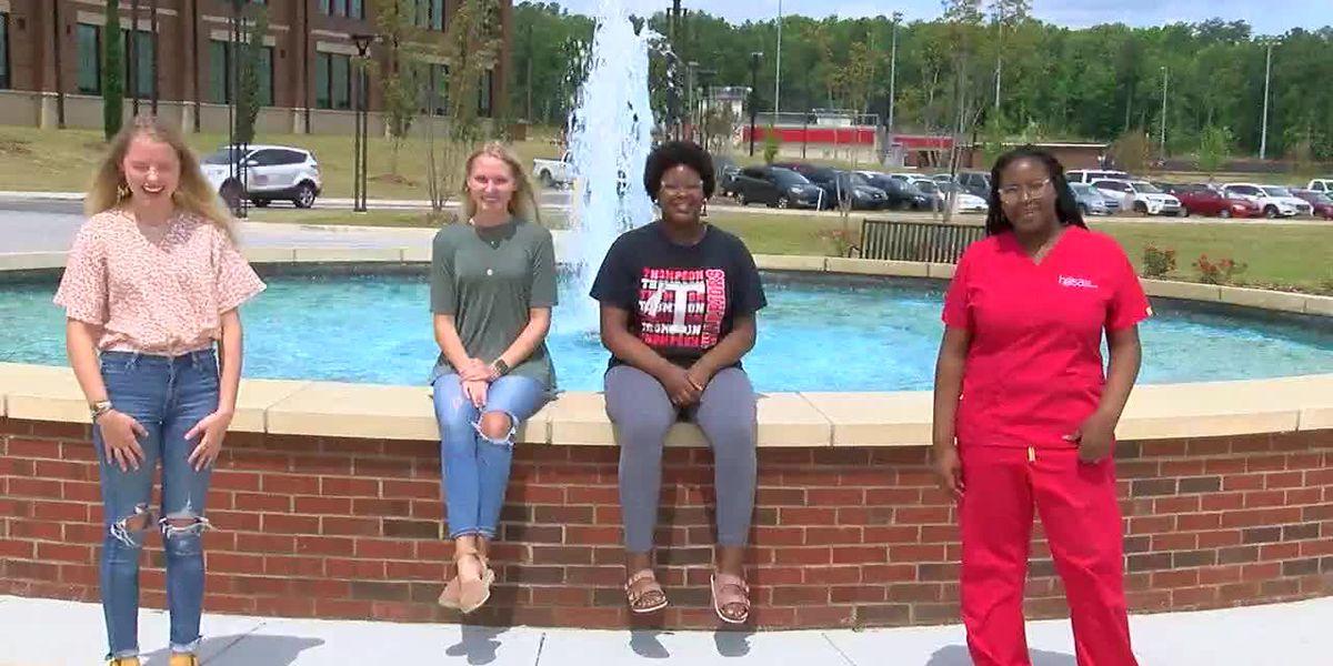 Twice as nice: 2 sets of Thompson High School twins earn valedictorian