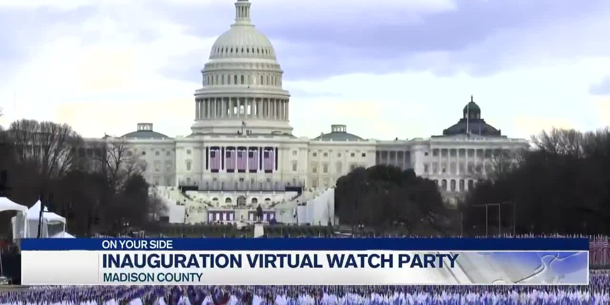 Virtual watch party for Inauguration Day