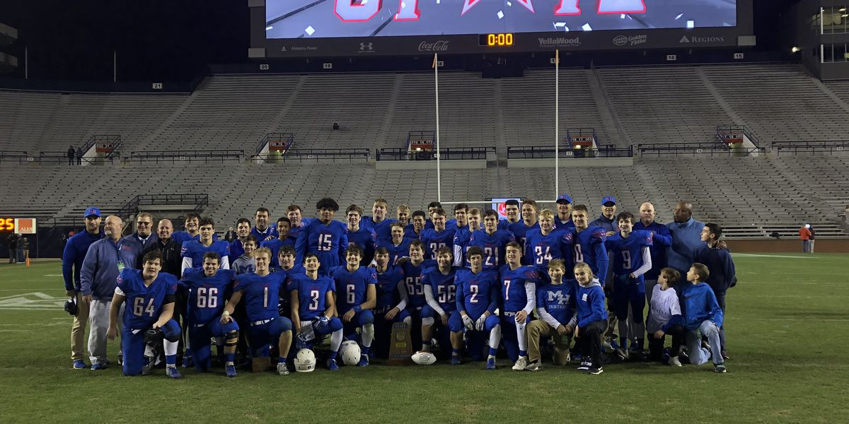 Mars Hill wins 1A football state championship