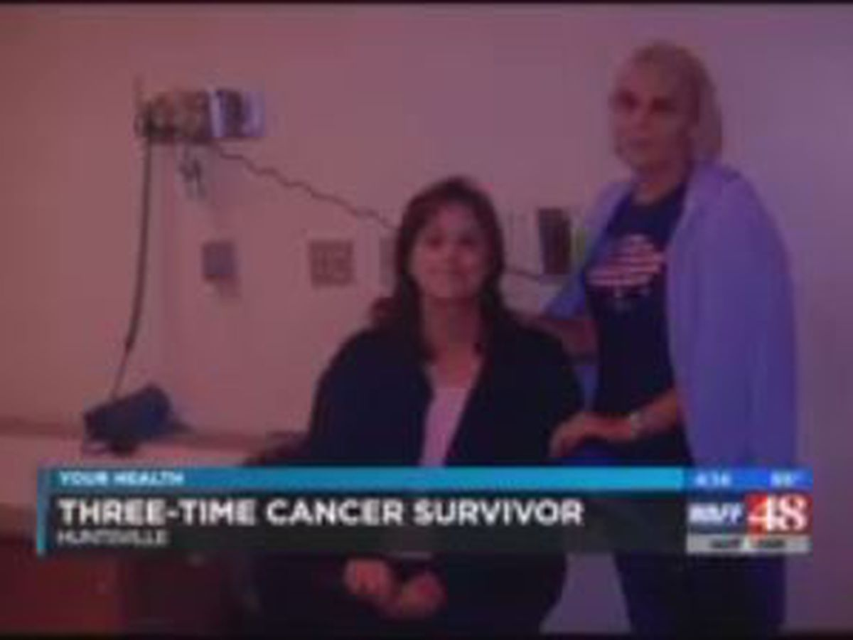N. Alabama woman overcomes 3 types of cancer