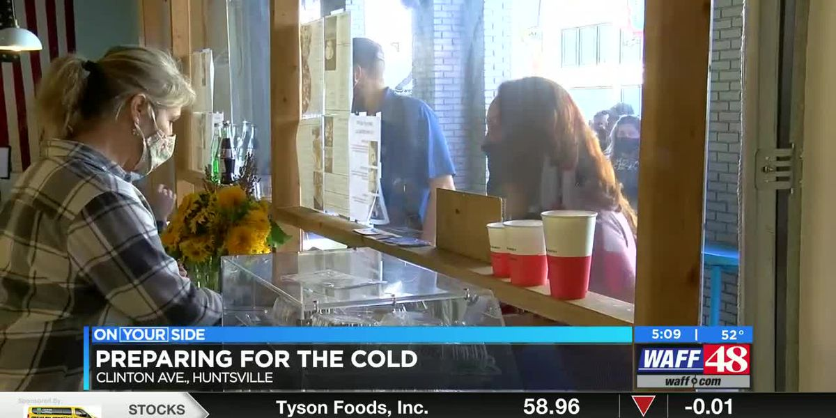 Local restaurant looks at options as cold weather starts to cut down outdoor seating