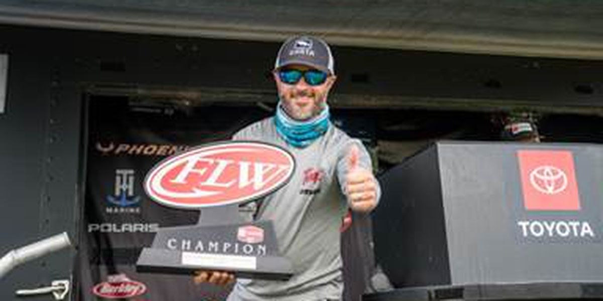 Georgia's Kip Carter Wins Toyota Series Tournament on Wheeler Lake