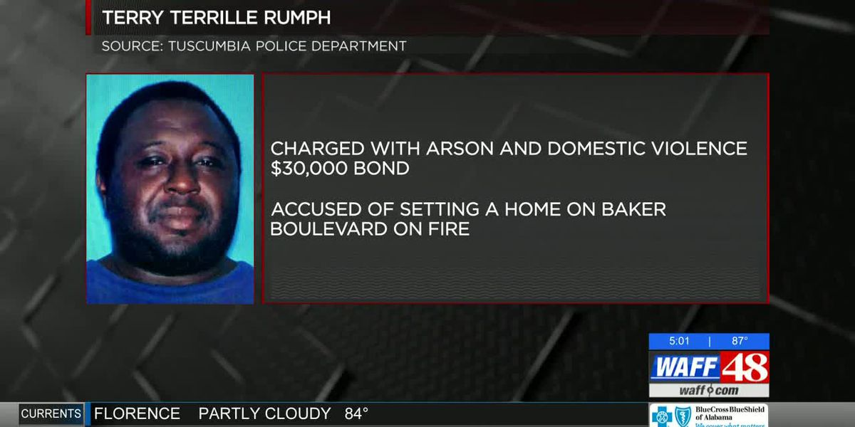 Man accused of setting ex-fiancee's house on fire in Tuscumbia