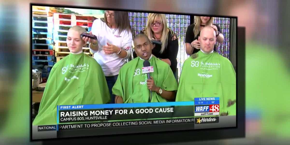 Support children's cancer research at the 'Live Bald' event on March 30