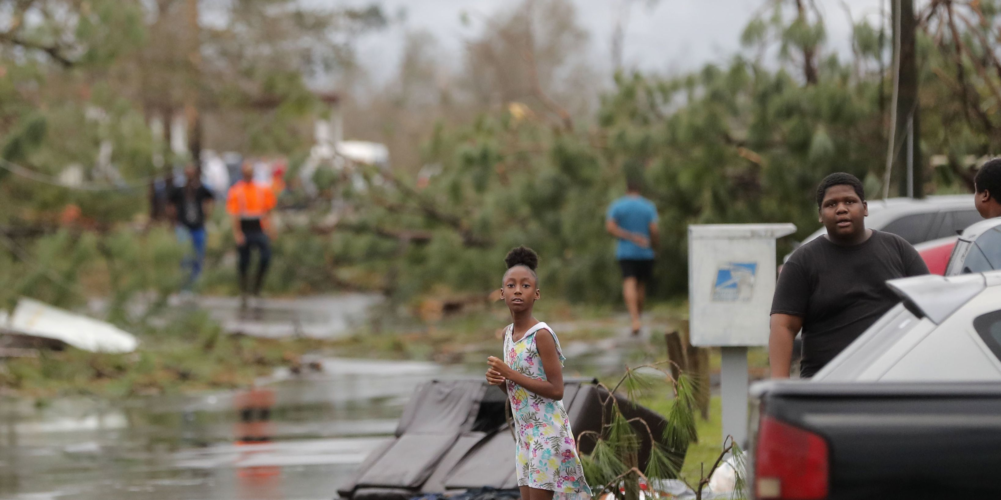 Tropical Storm Michael hits North Carolina with floods and outages as it moves up East Coast
