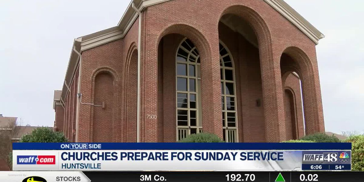 Local churches are preparing for large Easter Sunday services