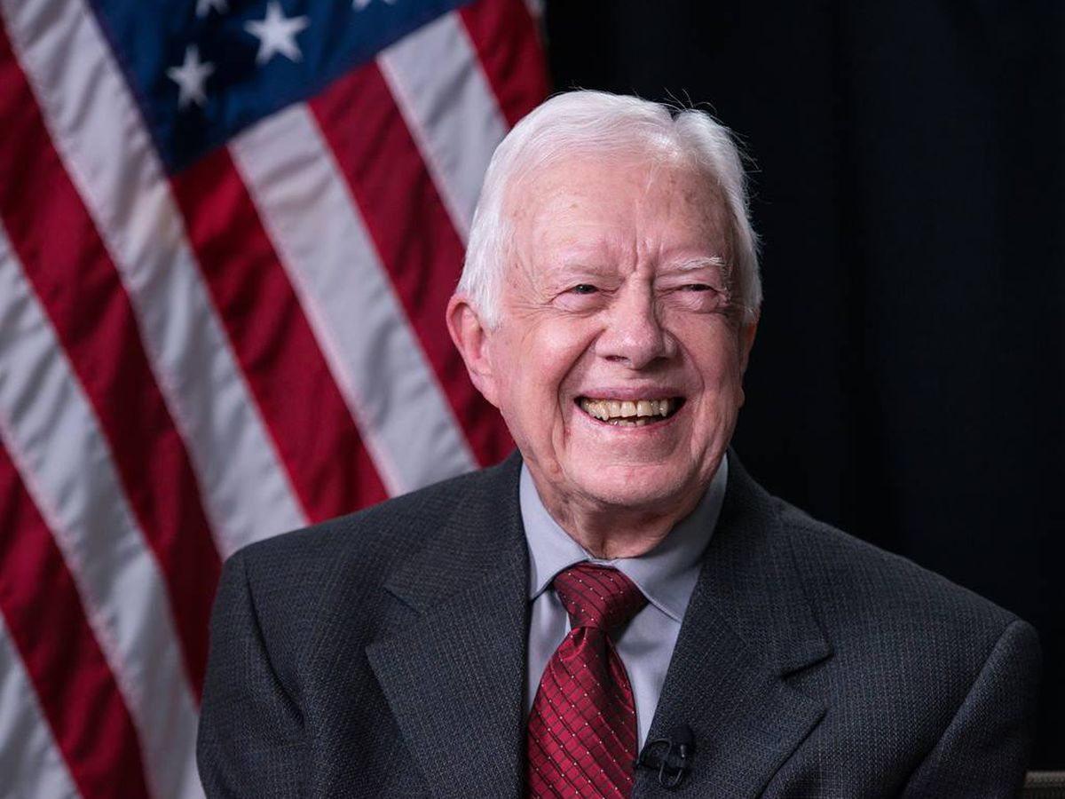 Former President Jimmy Carter celebrates 95th birthday