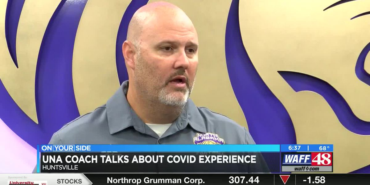 UNA football coach opens up about his COVID-19 experience