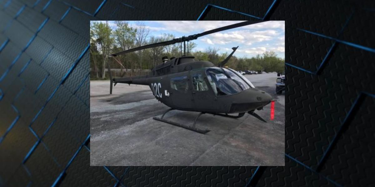 Limestone Co. Sheriff's Office debuts 'new' helicopter