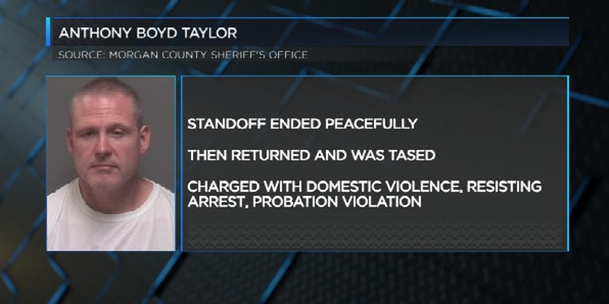 Man arrested on charges of domestic violence after standoff with deputies