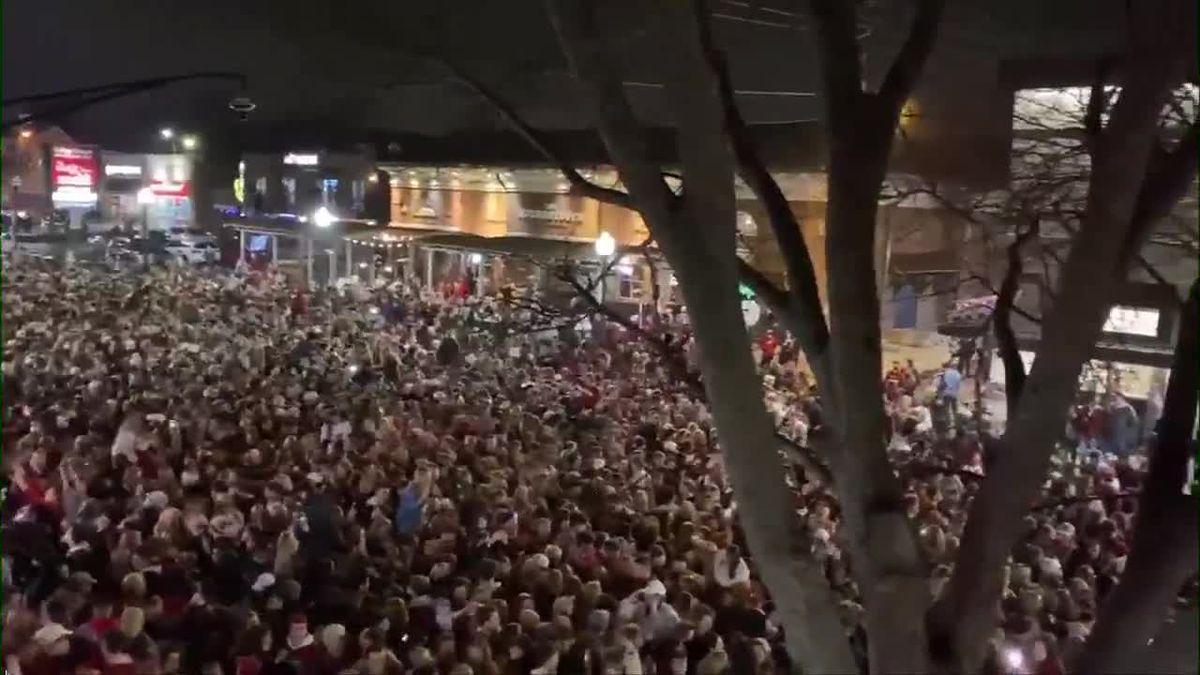 Alabama national championship celebrated by fans - Sports