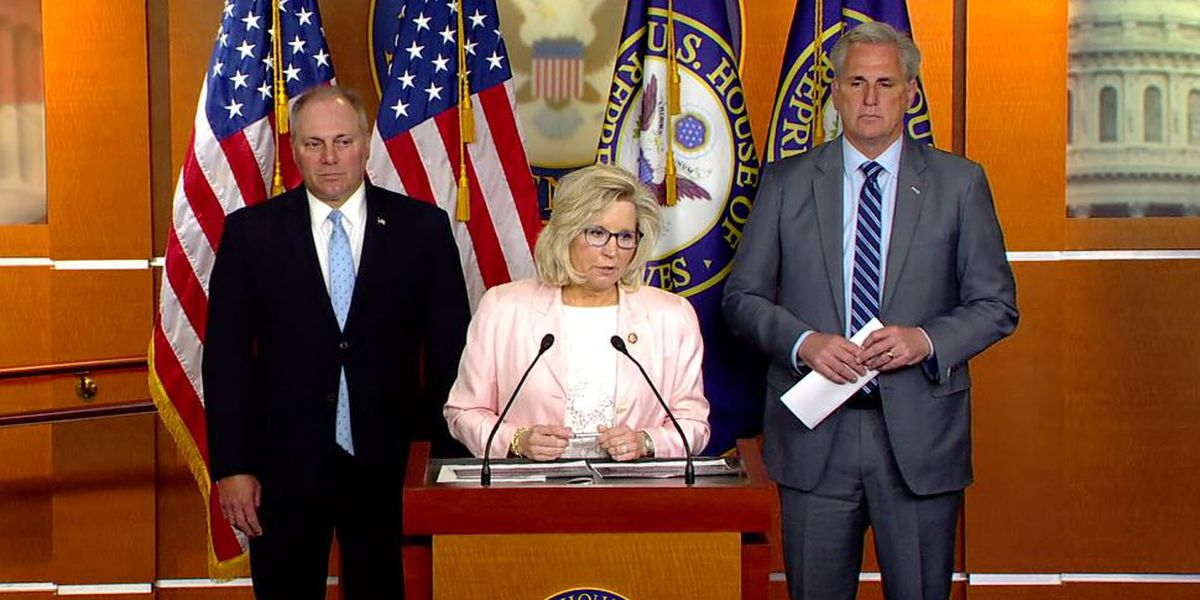 House GOP set to oust Trump critic Liz Cheney from top post