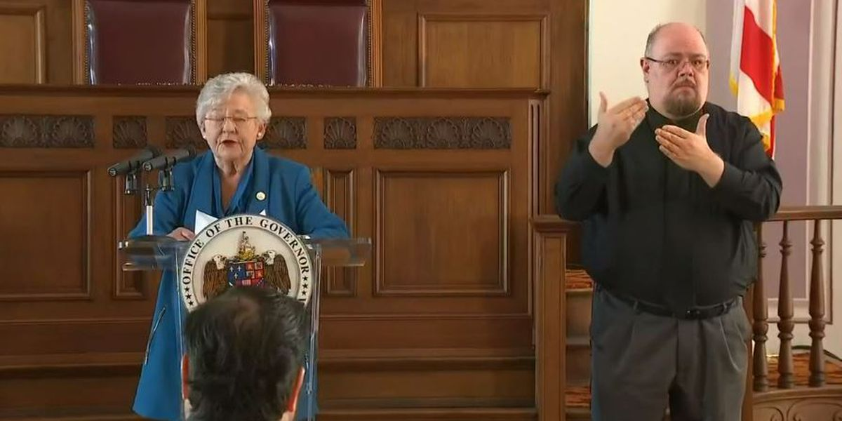 Gov. Ivey issues stay-at-home order for Alabama