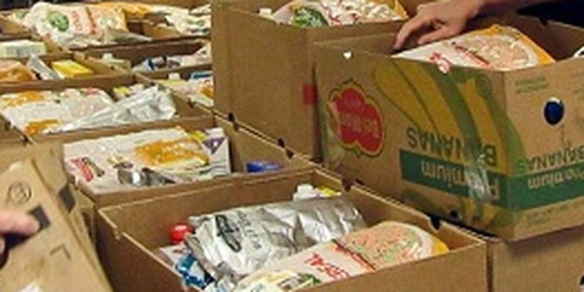 Athens food drive giving away 40,000 pounds of food