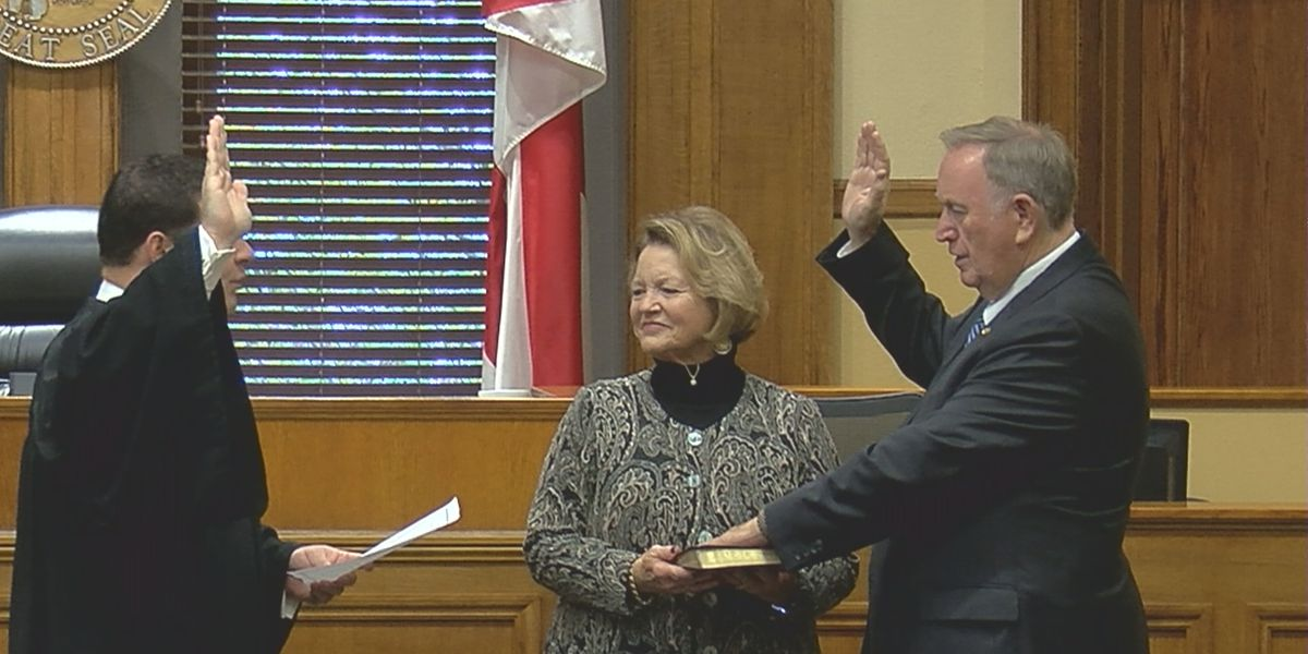 Alabama state senator sworn in twice, representing Madison and Limestone County's