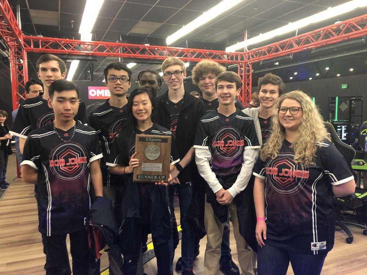 Bob Jones claims crown in state esports championship