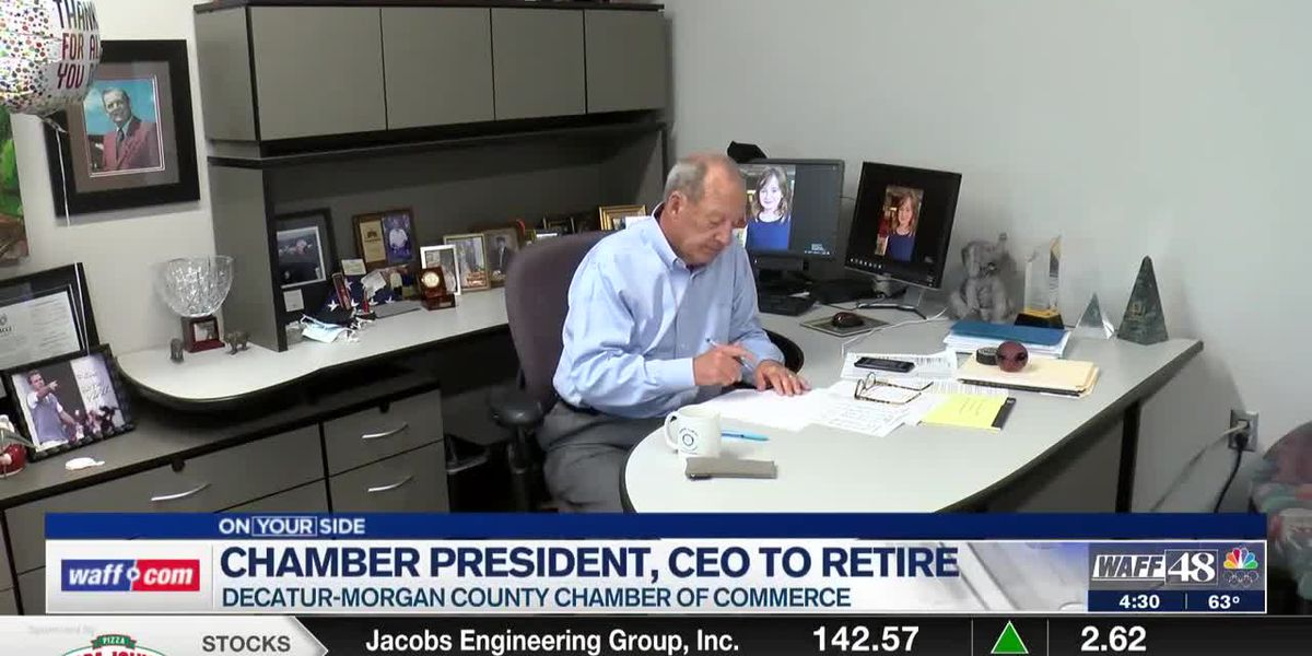 Decatur-Morgan County Chamber of Commerce President announces retirement after 30 years on the job