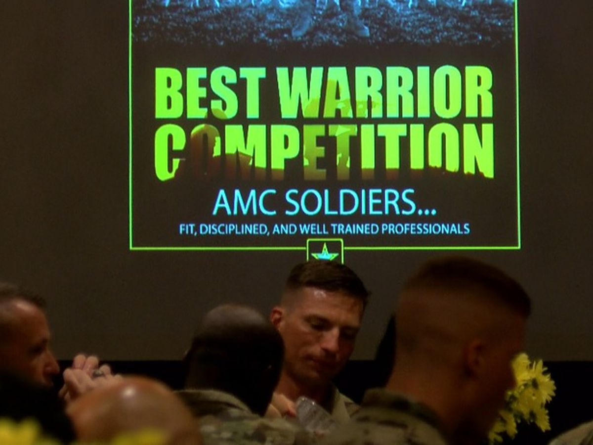 Army Materiel Command names best warriors after intense competition