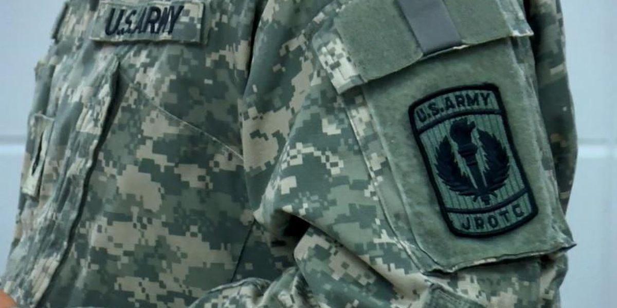 Marshall Technical School cuts ribbon for new junior ROTC program