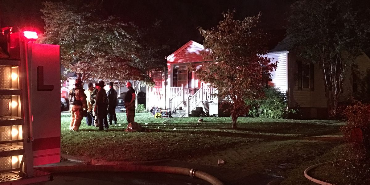 2 displaced after overnight house fire on Woodview Drive in Huntsville