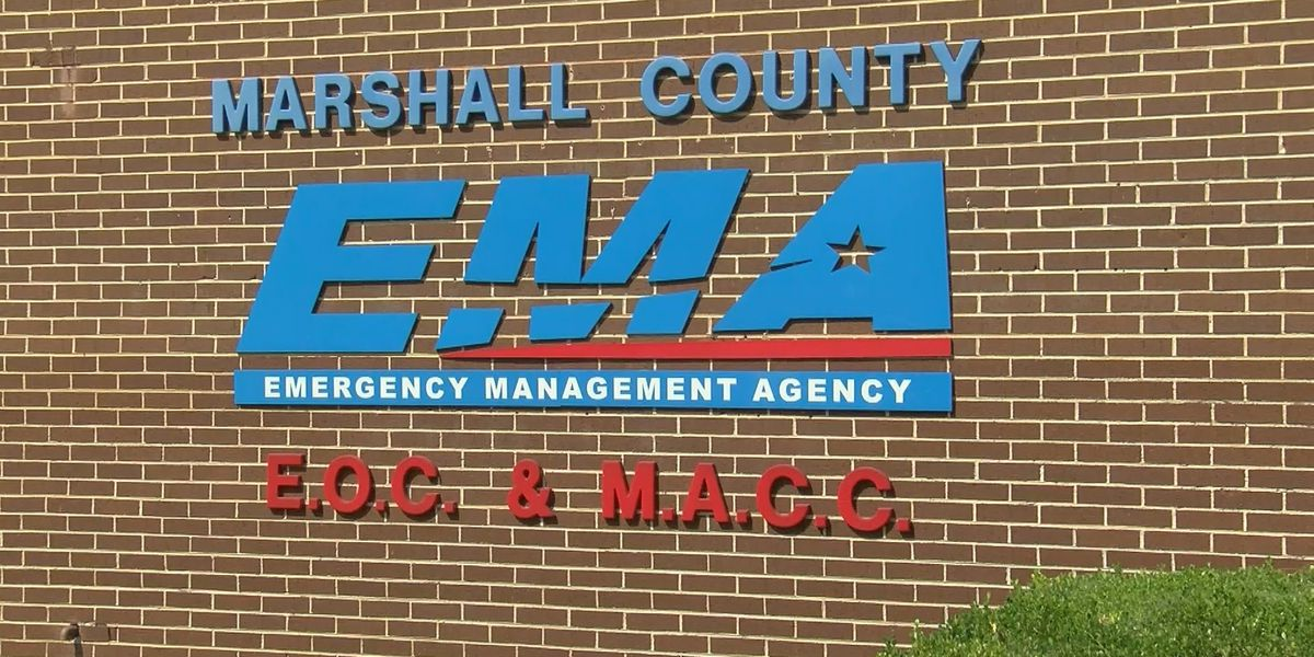 Drought causing fire dangers in Marshall County