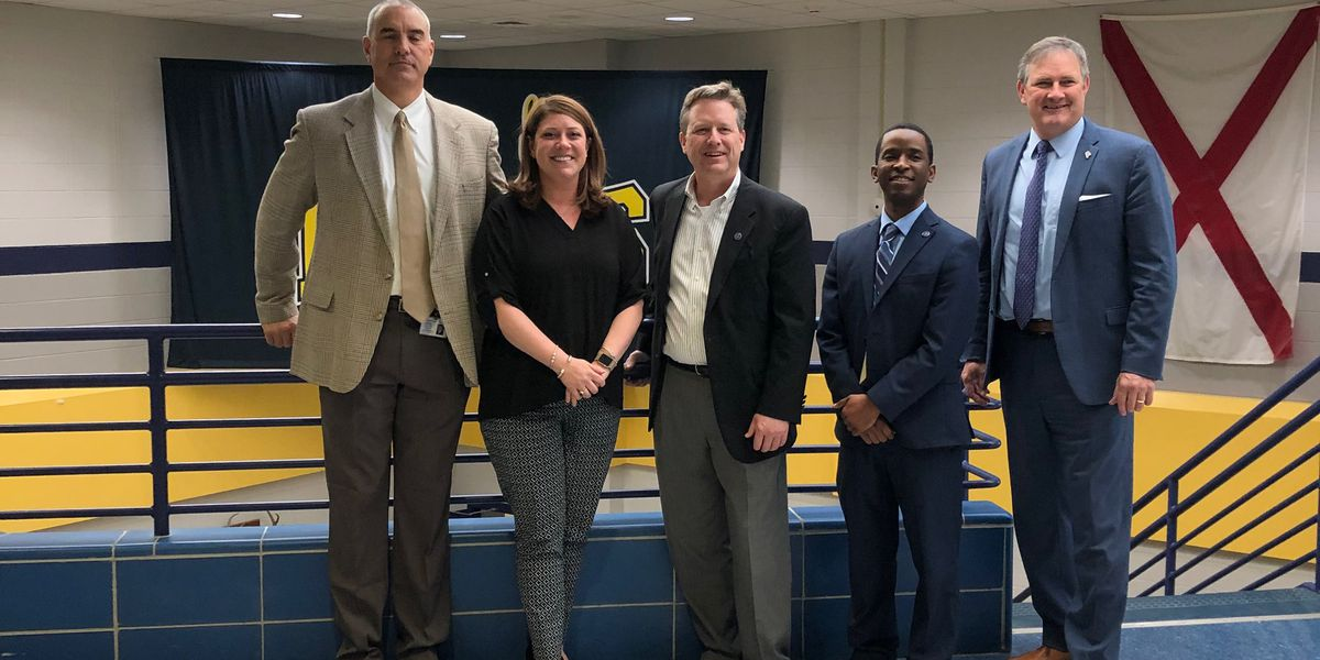 Buckhorn High School named AL Assistant Principal of the Year