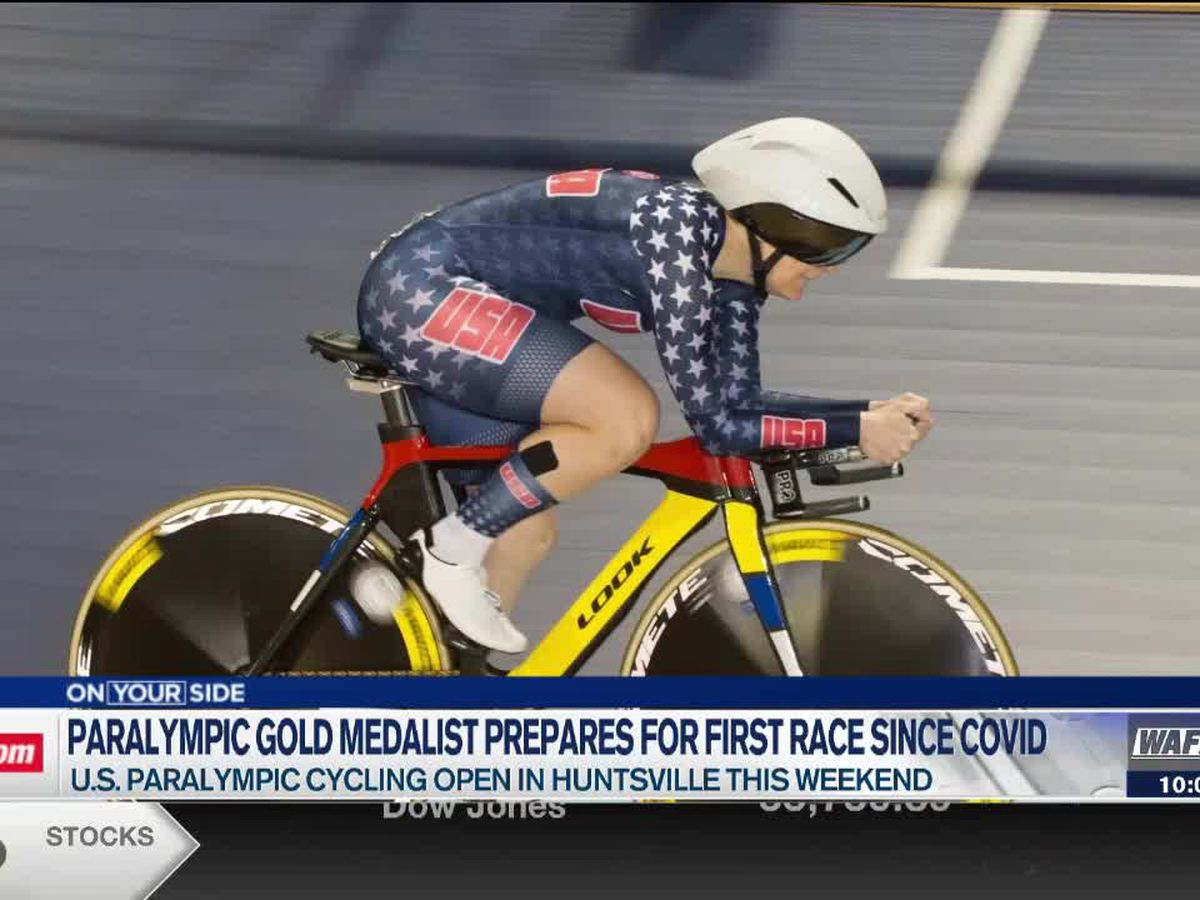 Paralympic gold medalist prepares for first race since COVID