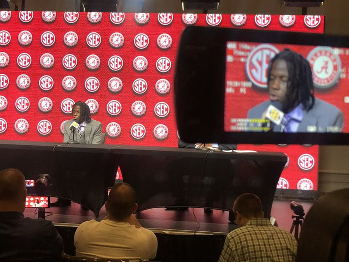 Alabama Crimson Tide at SEC Media Days
