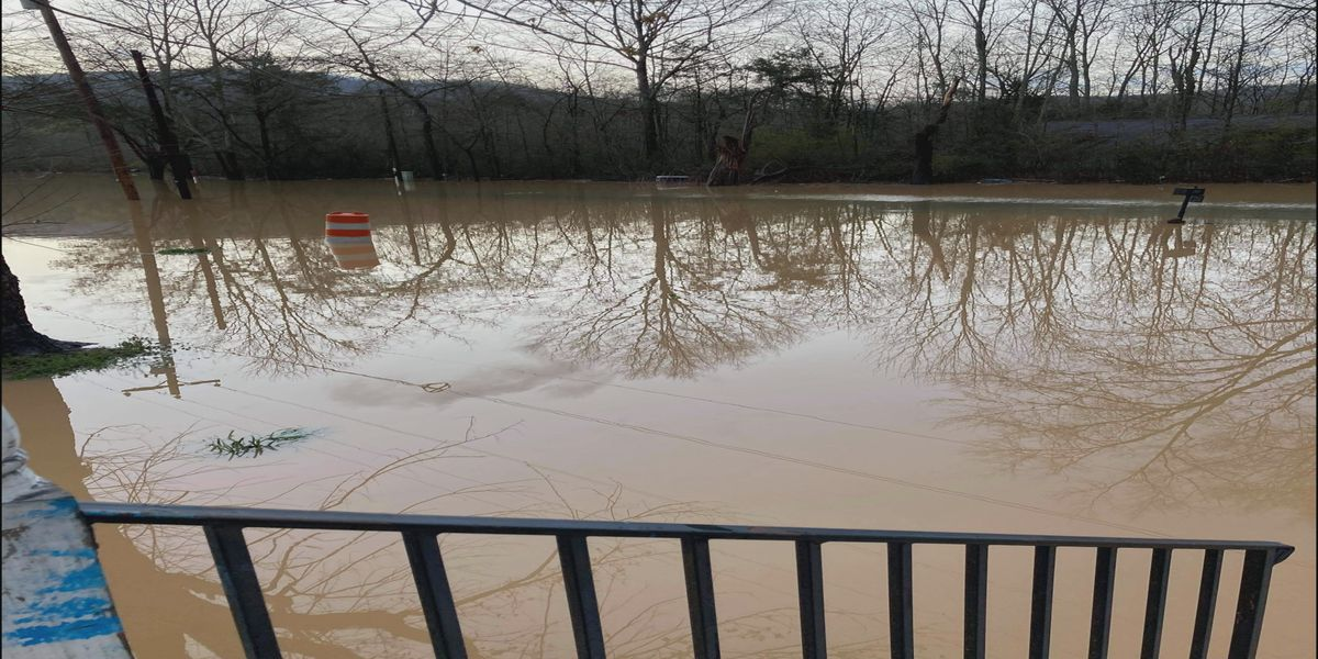 Jackson County woman stuck at home, surrounded by flooding