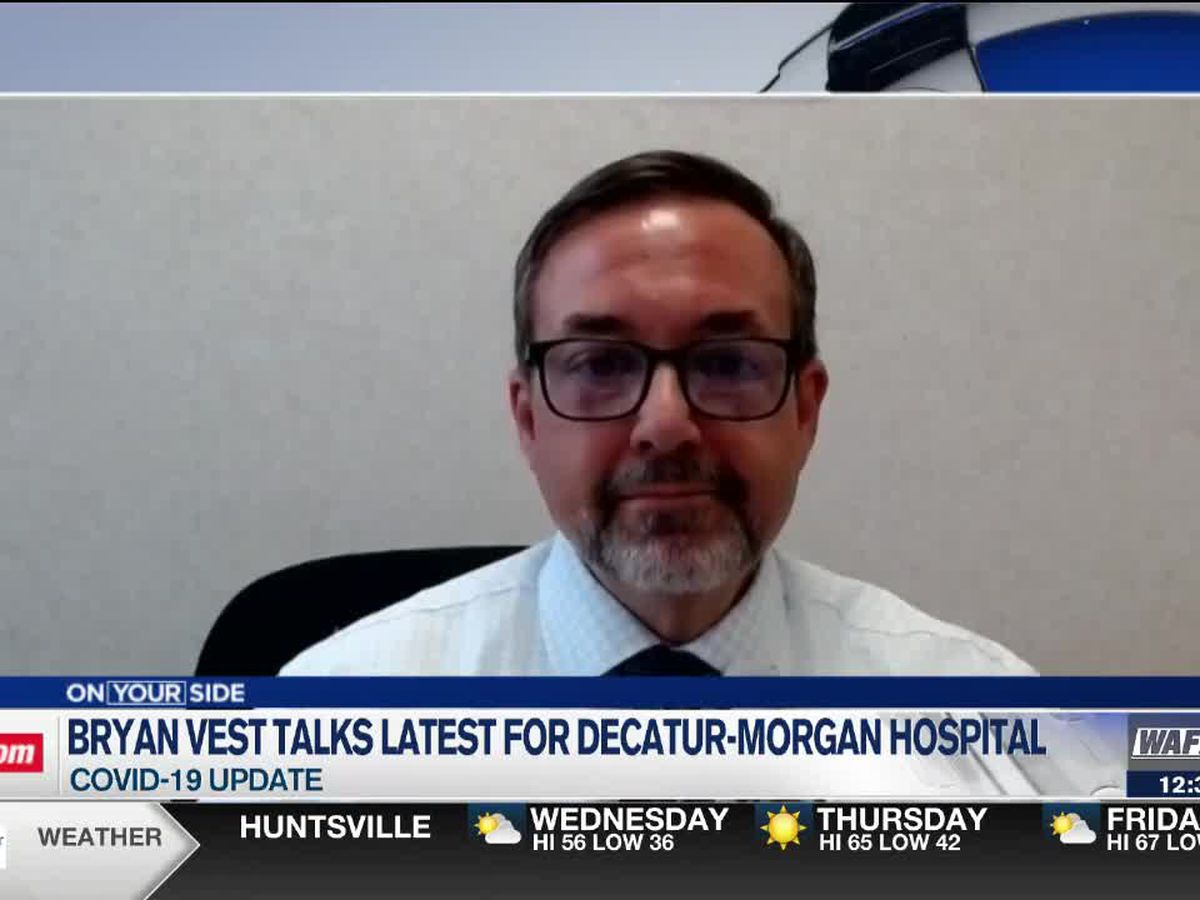 Decatur-Morgan Hospital official updates latest on COVID-19