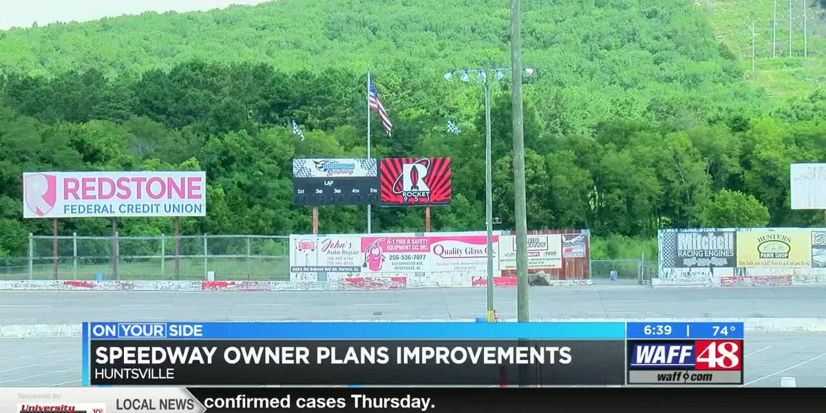 Huntsville Speedway owner shares future plans for racetrack, surrounding property