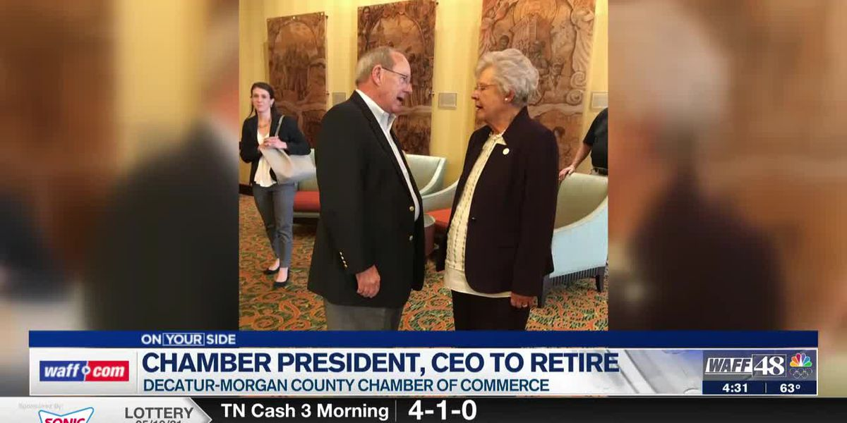 The Decatur-Morgan County Chamber President & CEO announced he is retiring