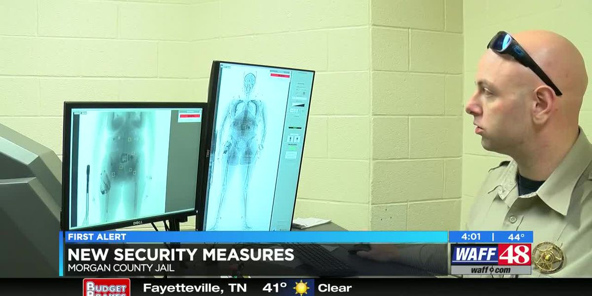 New security features added to Morgan County jail