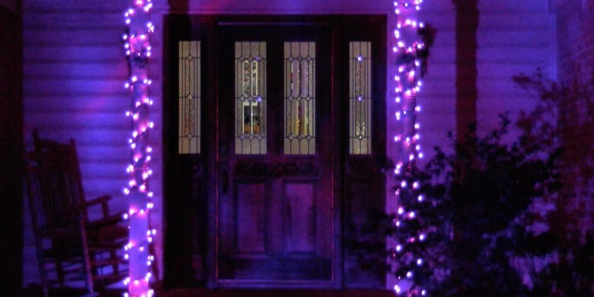 Hartselle neighborhood gives purple Christmas to little girl fighting terminal cancer