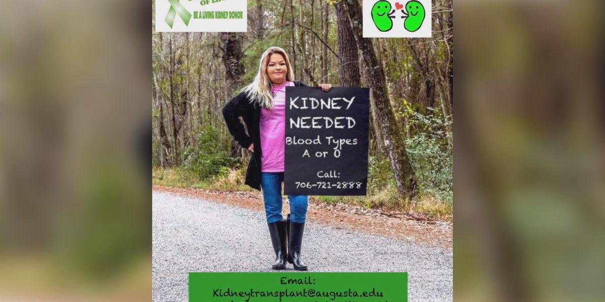 Rincon woman seeks kidney for transplant