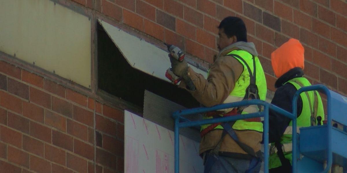 Repairs to the Marshall County Jail underway