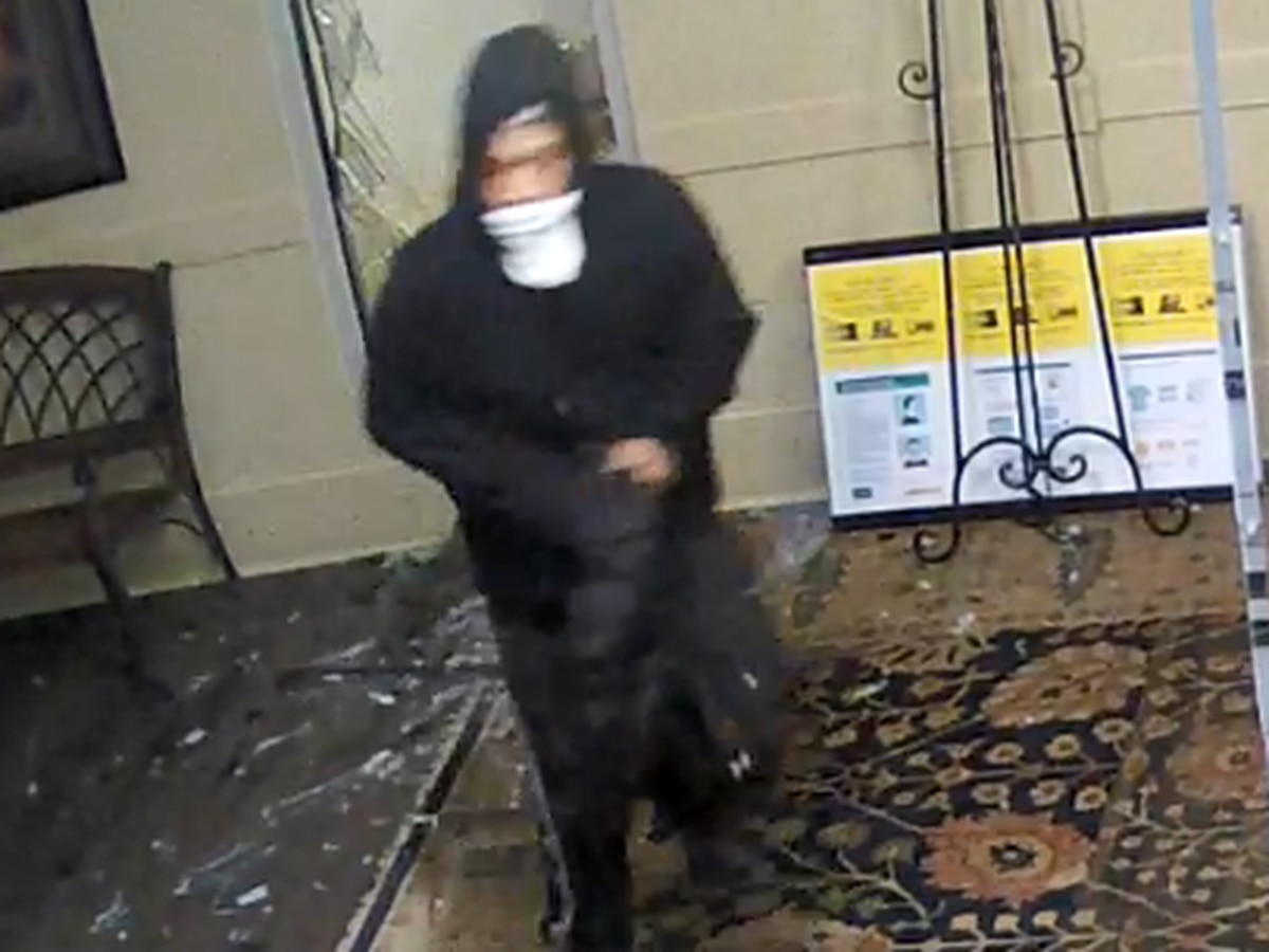 Crime Stoppers: Man breaks into Huntsville Recovery Center