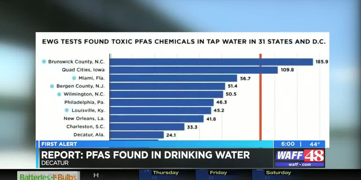 Study shows chemicals in Decatur drinking water; DU says water is safe