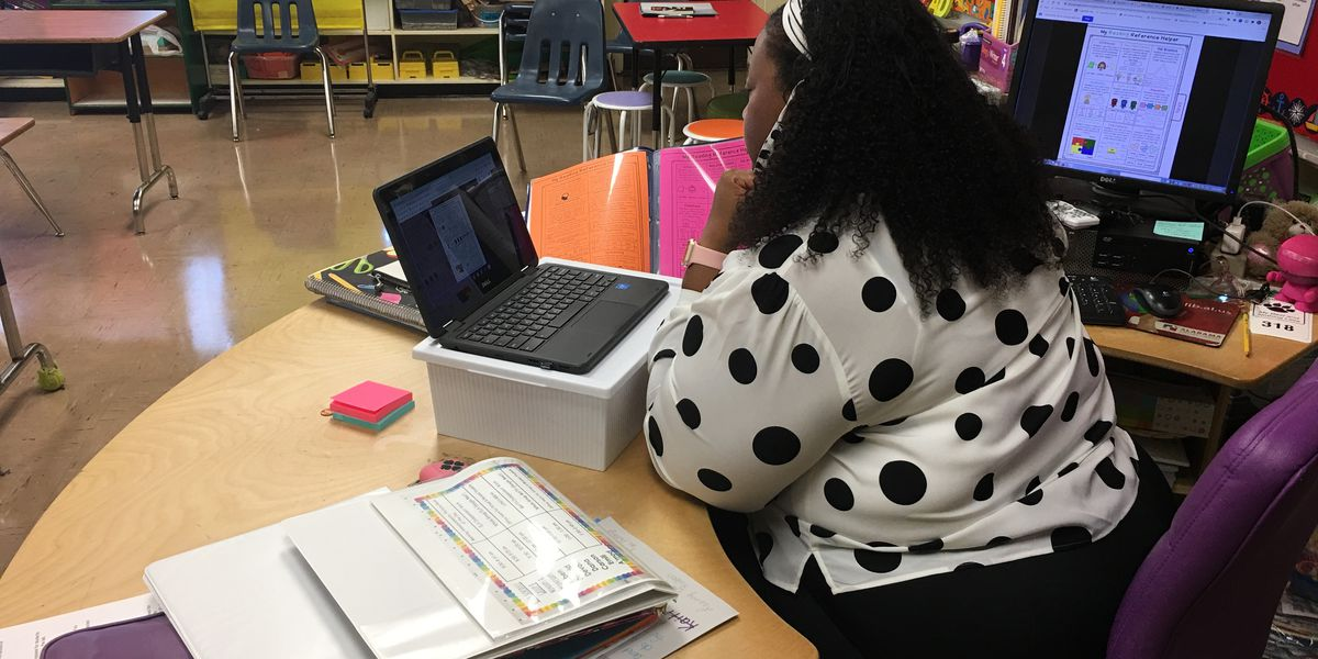 A look inside virtual learning: Decatur elementary teacher goes above and beyond