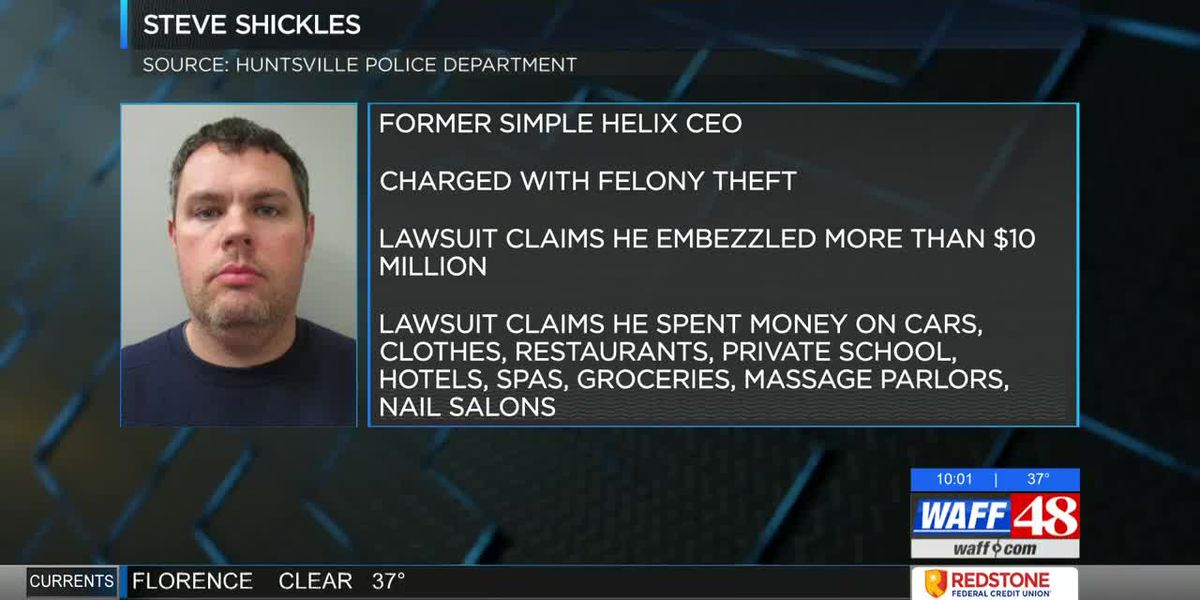 Former CEO accused of embezzling over $10M from Huntsville tech firm