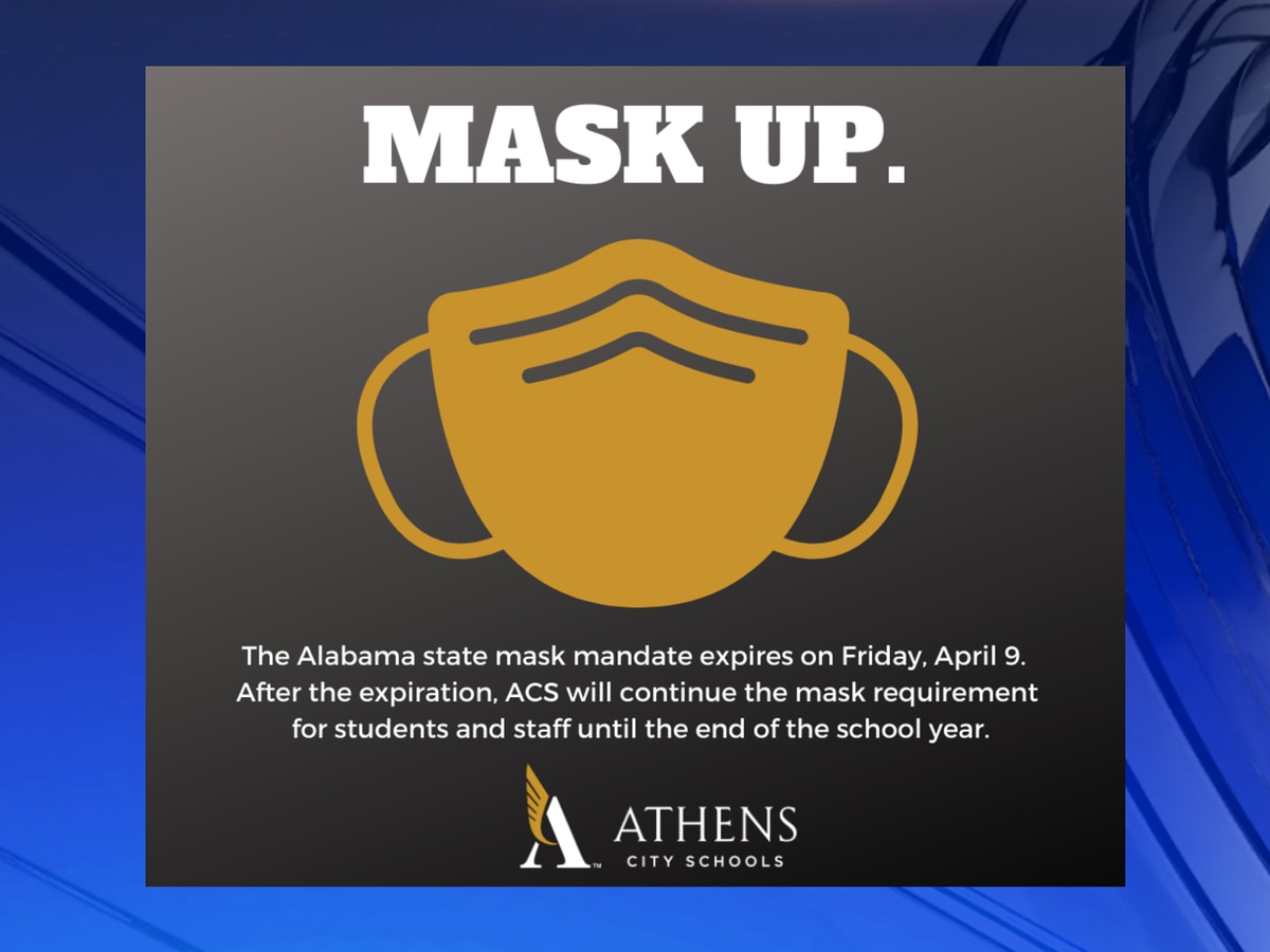 Athens City Schools mask mandate will remain in place through end of school year