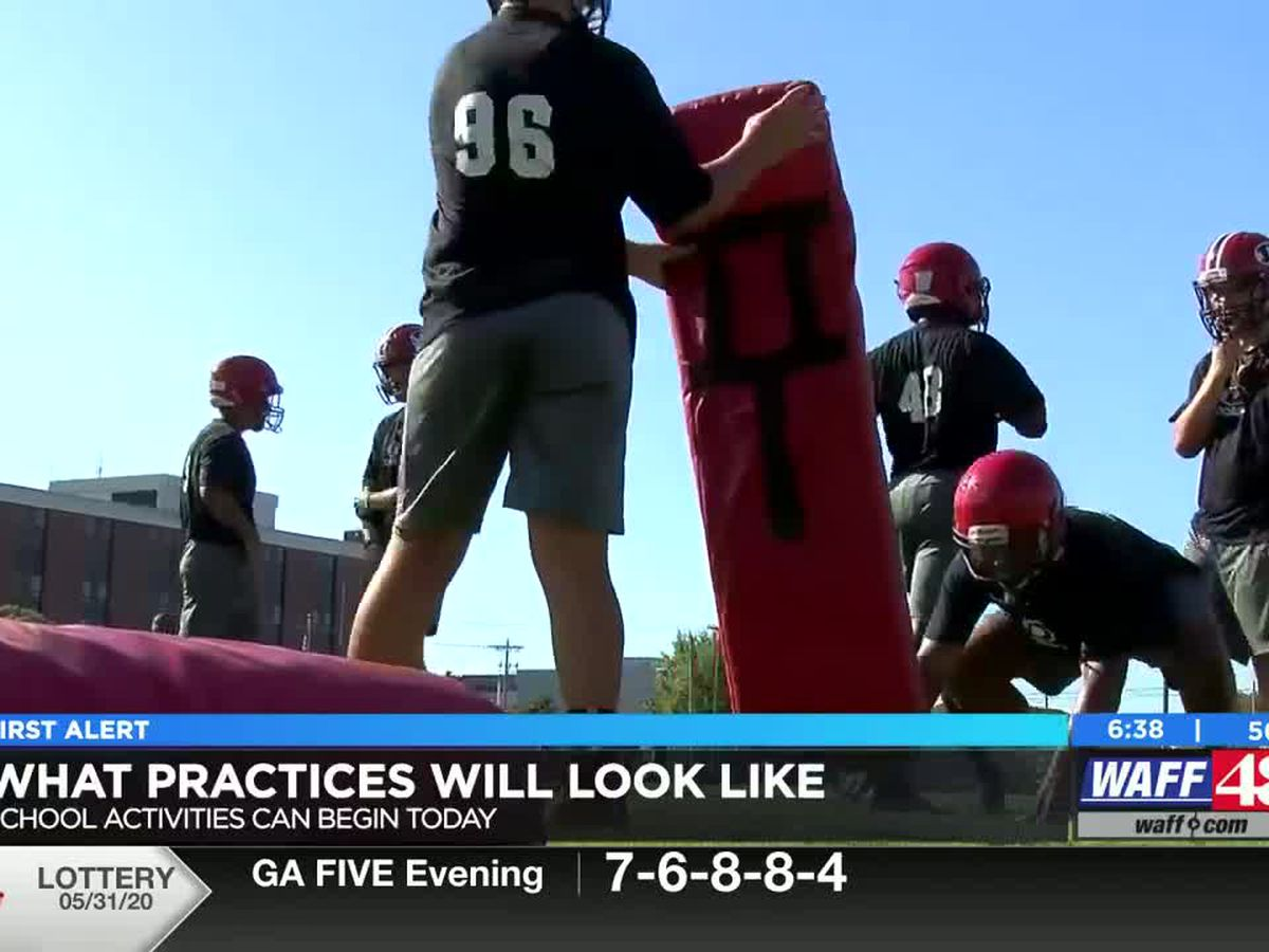 New coronavirus guidelines for high school athletic practices