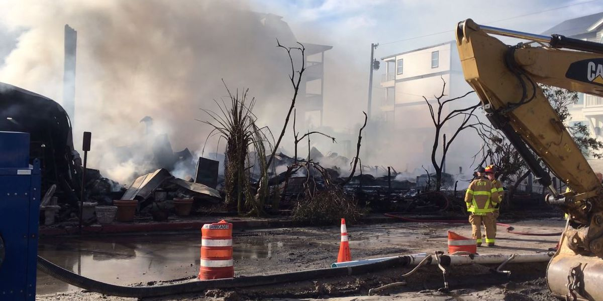 Iconic Florida Panhandle restaurant The Red Bar destroyed by fire