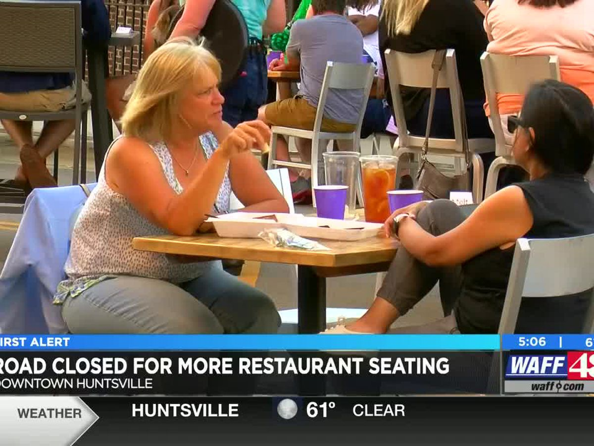 Holmes Avenue to close on weekends for outdoor dining space