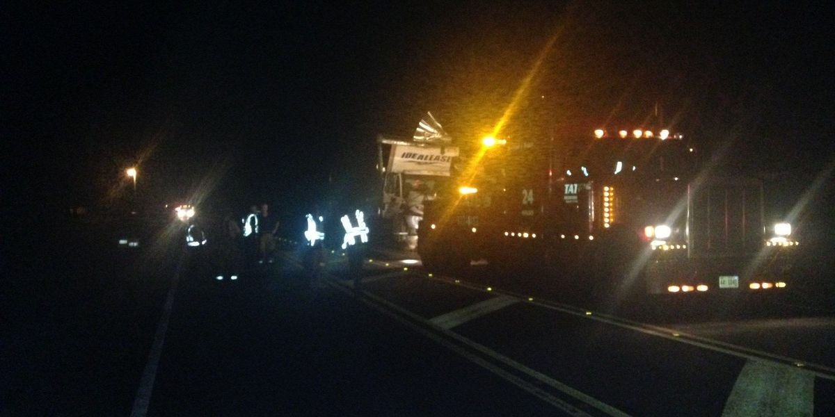 FIRST ALERT: 3 people recovering after multi-truck wreck on Hwy 251