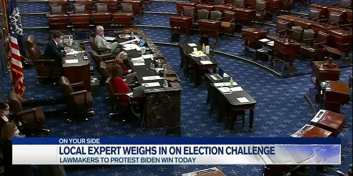 Local political science expert explains laws around Congressional count of Electoral College votes