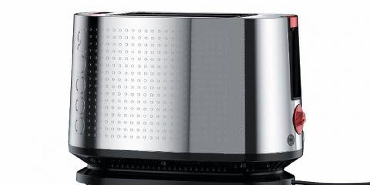 Bodum Bistro toasters recalled due to shock hazard