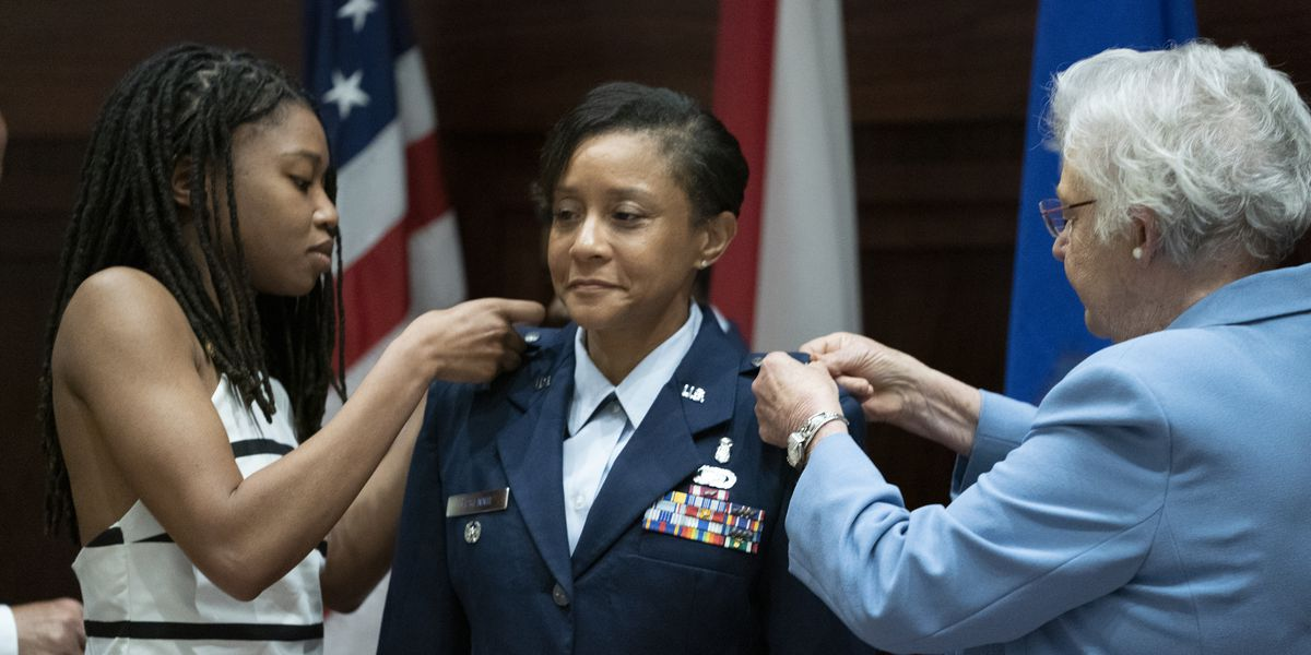 Alabama Air National Guard promotes first female general